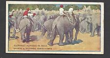 HUDDEN - SPORTS AND PASTIMES - #9 ELEPHANT HUNTING IN INDIA