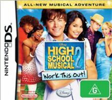 High School Musical Work This Out Nintendo DS Game USED