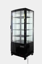 98LT COUNTERTOP DISPLAY FRIDGE COLD COOLER DRINKS REFRIGERATION