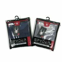 Spyder Mens T-Shirt Crew Neck Pro Fiber Lightweight Gray Blue Variety Sizes
