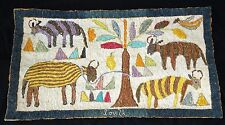 80s Haiti Tapestry Mon Makaya Ateliers de Creation Artistique Camp Perrin (Stea)