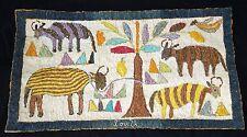 80s Haiti Tapestry Mon Makaya Ateliers de Creation Artistique Camp Perrin (Stea)