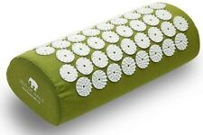 Bed of Nails Pillow, Accupressure Pain Relief Pillow, Used Twice, Green