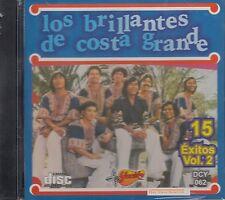 Los Brillantes de Costa Grande 15 Exitos vol 2 CD New Sealed