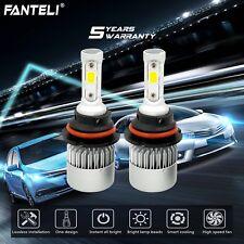 9007 HB5 LED Headlight Kit Hi/Lo Beam 1550W 232500LM Car Light Bulbs 6000K White