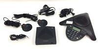 Polycom Soundstation 2W 1.9GHz Wireless Conference Phone 2201-67800-160 w/ Mics