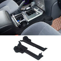 2PCS Car Seat Gap Storage Box Tray Fit for Toyota Land Cruiser LC200 2016-19 New