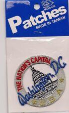 Washington DC USA Souvenir Patch
