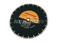 12 inch 300mm High Speed Segmented Diamond Cutting Disc Blade 'R Grade'