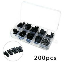 Wire Dupont Wire Connector Header Socket Kit Jst 254mm Black Portable