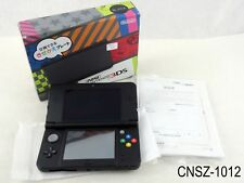 Japanese Nintendo New 3DS Console Black System Japan Import v11.1-11.5 US Seller
