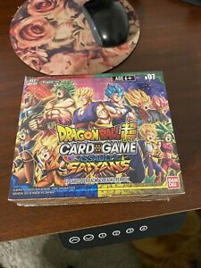 Dragon Ball Super TCG Series 7 Assault of the Saiyans Sealed Booster Box