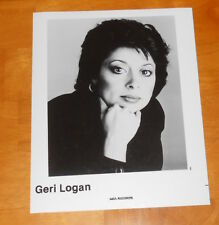 Geri Logan Photo Poster Original Promo 8x10 Rare R&B