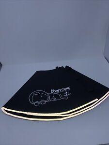 Original Comfy Cone Soft XL Black Dog Recovery Collar/Cone