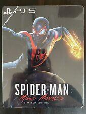 Spiderman Miles Morales Steelbook - Neu - Custom - ohne Spiel - PS5