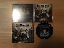 ONE MAN ARMY UNDEAD QUARTET 21st Century Killing Machine CD NB 2006 LTD Slipcase