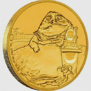 Niue - 2018 - 1 OZ Gold Proof Coin- Star Wars Classic - Jabba the Hutt
