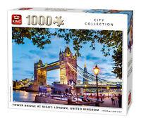 1000 Piece City Jigsaw Puzzle Tower Bridge At Night London United Kingdom 05740