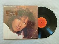 Barbara Streisand MEMORIES Vinyl LP Album Columbia TC 37678 Shrinkwrap