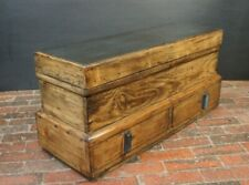 Antique Joiners Tool Trunk Coffee Table Chest