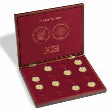 """Münzkassette VOLTERRA für 16 dt. 100-Euro-Goldmünzen """"UNESCO Welterbe"""" (357089)"""
