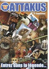ATTAKUS   le supplement au 5 ème catalogue  regroupant les objets dont Star Wars