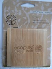 ECO Compact Bamboo Double Mirror, Made From A Sustainable Resource,