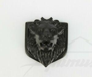 Emblem For DODGE Ram Badge Logo Front Grille LION Black 1500 2500 3500 3D Mopar