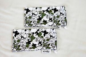 Two New Original Oakley Sunglasses Island Floral Microfiber Cleaning Dust Bags