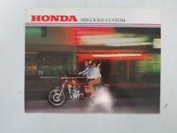 Literature 1974 Honda TL125 K1 Motorcycle Sales Brochure Poster