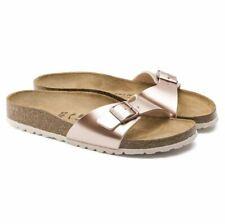 Birkenstock Madrid Electric Metallic Copper Damen Sandale Weite Schmal