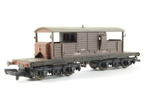 25 Ton Queen Mary Brake Van 56299 in Southern Brown Livery #HO 33-827A Scale