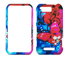 Red Blue Butterfly for Motorola Photon Q LTE XT897  Case Cover