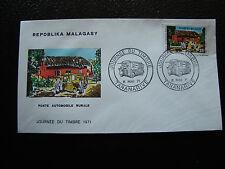 MADAGASCAR - enveloppe 8/5/71 - journee du timbre - yt n° 488 - (cy5) (A)