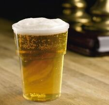 25 x 20oz Katerglass Strong Disposable Plastic Pint Beer Glasses [5055202120099]