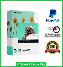Wondershare Filmora 9.6 ✔️ 2020✔️ LifeTime License activation ✔️ multilingual