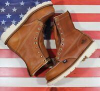 "Thorogood 8"" American Heritage Safety Steel Toe Work Boot FACT2ND USA [804-4308]"