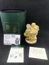 Harmony Kingdom Ivory Tower Limited Edition Zookeepers Collection Box Coa Signed