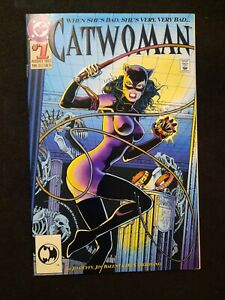 Catwoman Comic Book DC #1 August 1993 Embossed Cover 1st Issue 1st Printing