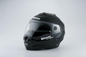 Blauer Sky Matt Black / Black Flip-Front Helmet RRP £219 *FREE UK DELIVERY*