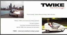 Twike EV Trike 2006 UK Market Foldout Sales Brochure Easy Active