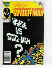 WEB OF SPIDERMAN #18 KEY COMIC AUCTION PJ222
