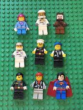 Lego Mini Figures Minifigures X9 Various Assorted Including Superman