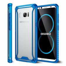 Poetic For Galaxy S8 Affinity Reinforced Corner Protection Bumper TPU Case Blue