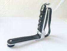 Folding Metal L Flash Bracket With Hand Strap for SLR, DSLR