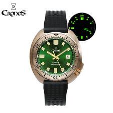 Cronos Bronze Turtle Diver Men Watch Automatic PT5000 SW200 Water Resistant