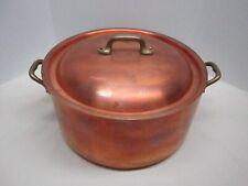 Mauviel 8 Quart Copper Stock Pot from Williams Sonoma