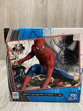 SPIDER-MAN 3 100pc Puzzle Complete Milton Bradley Hasbro