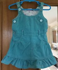 Baby Girls Turquoise Dress Size 9-12 Months