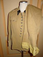 tenue coloniale gendarmerie fin XIXéme veste à 9 boutons et pantalon militaria